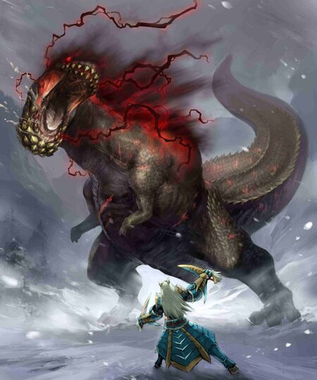 MHRoC-Savage Deviljho Art 001