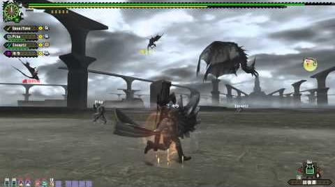 Monster Hunter Frontier GG - Silver Rathalos