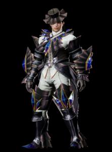 MHO-Akura Armor (Blademaster) (Male) Render 001