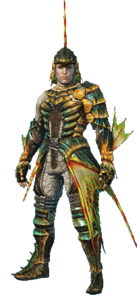 MHO-Plesioth Armor (Gunner) (Male) Render 001