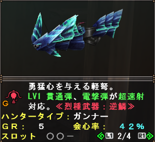 Retsu Weapon (Diorex LBG)