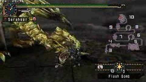 Gold Rathian - Monster Hunter Freedom 2 PSP