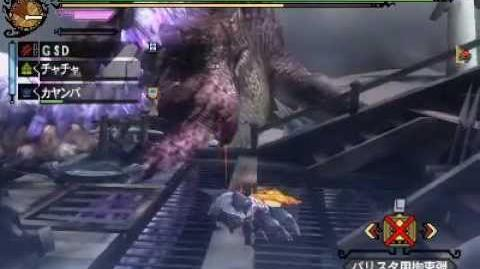 Monster Hunter 3 (Tri) G - Hallowed Jhen Mohran
