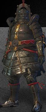 File:MHO-Lone Shen Gaoren Armor (Gunner) (Male) Render 001.png