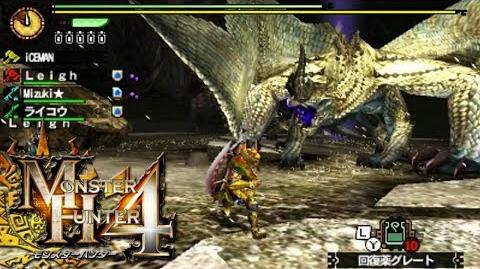 Let's Play Monster Hunter 4 085 - MHVuze! Stygian Zinogre, Basarios Subspecies, Shagaru Magara