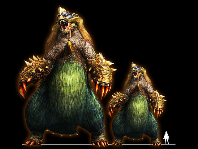 File:MHXR-Colossal Arzuros and Large Arzuros Render 001.jpg