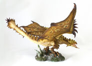 Capcom Figure Builder Creator's Model Gold Rathian 003