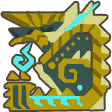 File:MH3U-Zinogre Icon.png