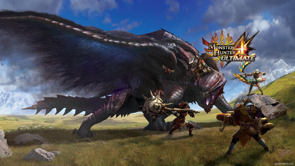 monster hunter 3 ultimate wallpaper 1080p character
