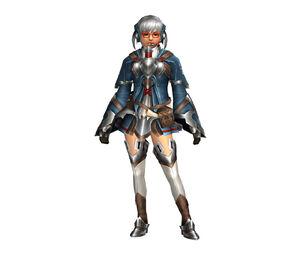 FrontierGen-Bande Armor (Female) (Both) (Front) Render 001