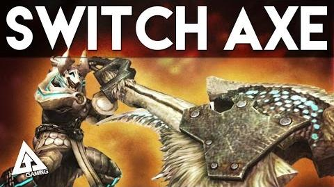Monster Hunter 4 Ultimate Switch Axe (Slash Axe) Tutorial MH4U Basics