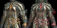 Plesioth X Armor (Blade) MHFU