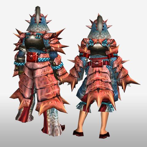 File:FrontierGen-Kukku G Armor (Blademaster) (Back) Render.jpg