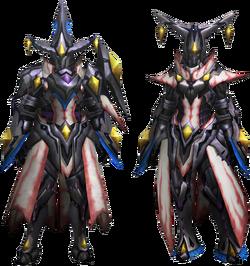 MH4U-Nerscylla Z Armor (Gunner) Render 001