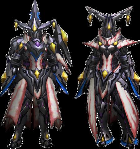 File:MH4U-Nerscylla Z Armor (Gunner) Render 001.png