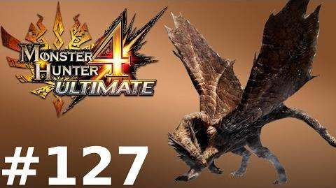Monster Hunter 4 Ultimate Multiplayer -- Part 127 Rusted Kushala Daora - Rusted Steel Dragon