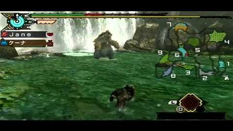 Monster Hunter Portable 3 - Arzuros