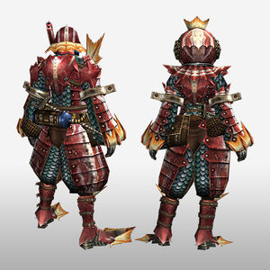 FrontierGen-Apukaru Armor (Both) (Back) Render