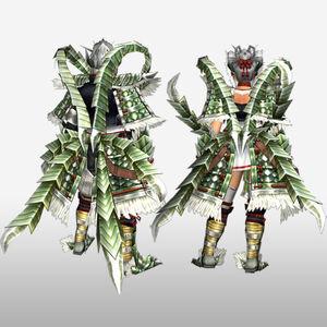 FrontierGen-Haukusu Armor (Both) (Back) Render