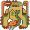 MH3U-Sand Barioth Icon.png