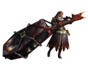 MH3U-Hunting Horn Equipment Render 001