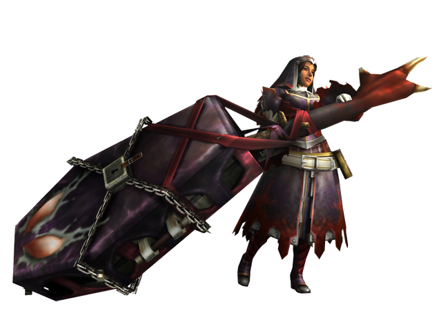 File:MH3U-Hunting Horn Equipment Render 001.png