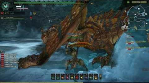 Monster Hunter Online - Biggest Tigrex encountered (Snowy Mountains) Event