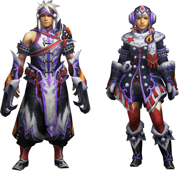 Empress Armor Mh4u Mh4u g Rank Gunner Armor