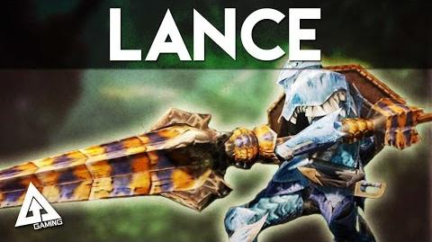Monster Hunter 4 Ultimate Lance Tutorial MH4U Basics
