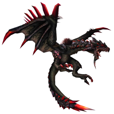 File:FrontierGen-Unknown (Black Flying Wyvern) Render 001.png