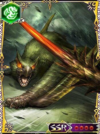 green nargacuga monster hunter wiki fandom powered by
