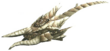 FrontierGen-Hunting Horn 006 Low Quality Render 001