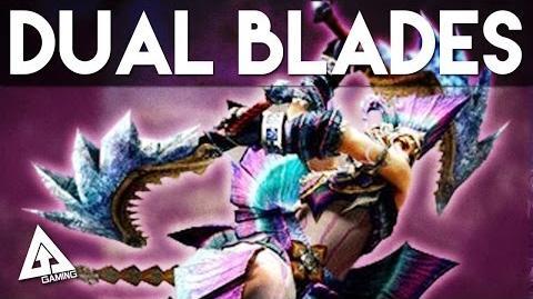 Monster Hunter 4 Ultimate Dual Blades Tutorial (Dual Swords)