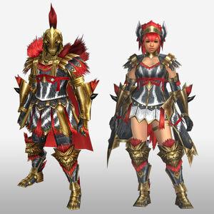 FrontierGen-Magushia Armor (Blademaster) (Front) Render