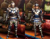 MH4U-Alloy Armor (Blademaster) Render 001