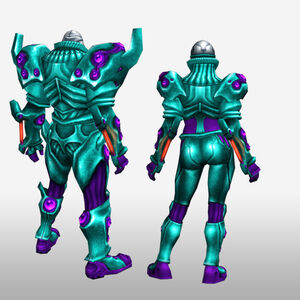 FrontierGen-Genome Armor 005 (Both) (Back) Render