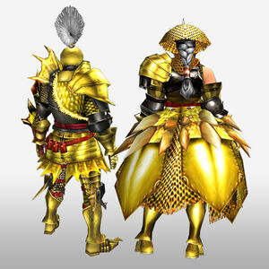 FrontierGen-Luna G Armor (Blademaster) (Back) Render