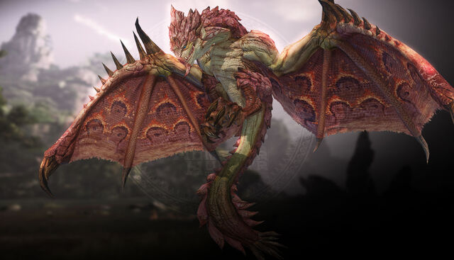 File:MHO-Pink Rathian Artwork 002.jpg