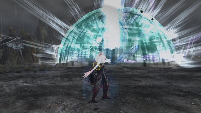 File:MHFG Diorex Super Roar Fighting Hunter.png