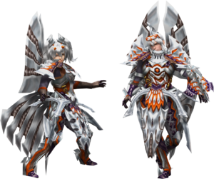 FrontierGen-Harudo Armor (Gunner) Render 2