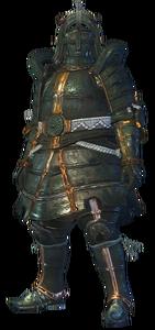 MHO-Shen Gaoren Armor (Gunner) (Male) Render 001
