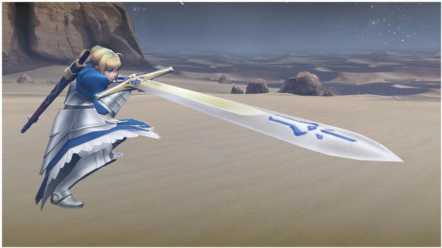 File:FrontierGen-勝利すべき黄金の剣 Screenshot 002.jpg