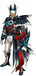 FrontierGen-Inbousou Armor (Gunner) (Male) Render