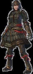 MHO-Lone Shen Gaoren Armor (Blademaster) (Female) Render 001