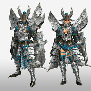 FrontierGen-Basaru G Armor (Gunner) (Front) Render
