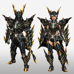 FrontierGen-Meragi Armor (Blademaster) (Front) Render