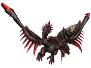 FrontierGen-Unknown (Black Flying Wyvern) Render 002