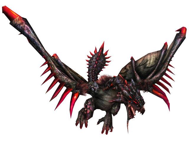 File:FrontierGen-Unknown (Black Flying Wyvern) Render 002.jpg