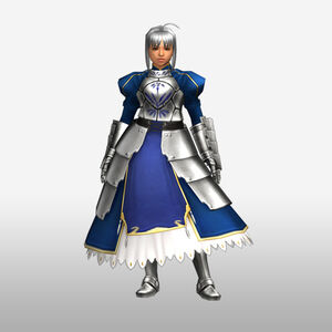 FrontierGen-Knight-King Armor 004 (Female) (Both) (Front) Render