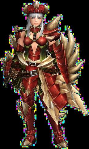 File:FrontierGen-Crimson Rock G Armor (Gunner) (Female) Render 001.png